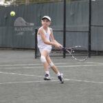 Dasha P tennis play