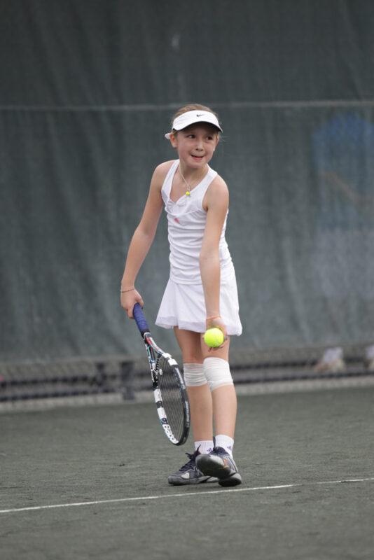 Dasha Plekhanova tennis play